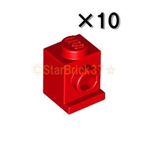 レゴ LEGO パーツ ばら売り ブロック1×1ヘッドライト:レッド(10個セット)|starbrick37-lego