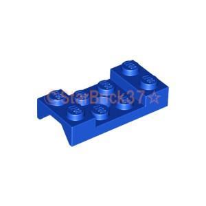 レゴ LEGO 車パーツ ばら売り マッドガード2×4(ペグ穴有):ブルー|starbrick37-lego