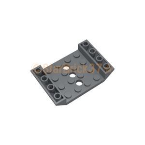 レゴ LEGO パーツ ばら売り 逆スロープ45度6×4(穴3個):ダークブルーイッシュグレイ starbrick37-lego