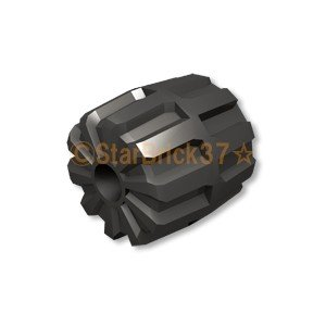 レゴ LEGO 車パーツ ばら売り ハードプラスチックホイール(22mm×24mm):パールダークグレイ|starbrick37-lego