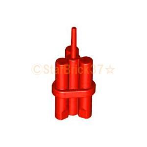 レゴ LEGO パーツ ばら売り ダイナマイト:レッド|starbrick37-lego