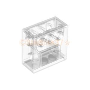 レゴ LEGO テクニックパーツ ばら売り テクニックギアボックス2×4×3・1/3:クリア|starbrick37-lego