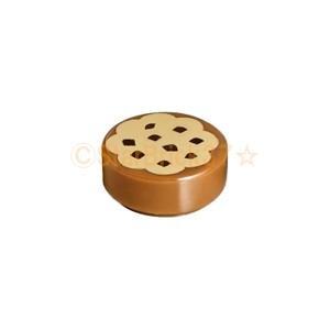 レゴ LEGO パーツ ばら売り 1×1タイル(丸)クッキー:ミディアムダークフレッシュ starbrick37-lego