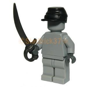 レゴ LEGO カスタムパーツ ばら売り 騎兵隊の帽子(互換品):ブラック|starbrick37-lego|03