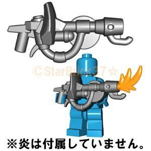 レゴ LEGO カスタムパーツ ばら売り ファイヤーブラスター(互換品):スティール