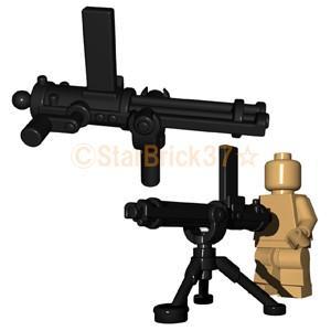 レゴ LEGO カスタムパーツ ばら売り ガトリング砲(互換品):ブラック|starbrick37-lego