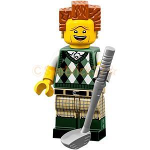 レゴ LEGO ムービー2ミニフィギュア:ゴーンゴルフィンおしごと大王