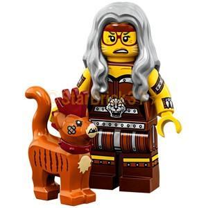 レゴ LEGO ムービー2ミニフィギュア:スクラッチポスト婦人とスカーフィールド