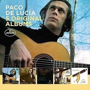 輸入盤 PACO DE LUCIA 5 ORIGINAL ALBUMS LTD 5CD の商品画像|ナビ