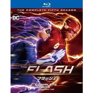 THE FLASH/フラッシュ〈フィフス・シーズン〉 ブルーレイ コンプリート・ボックス [Blu-ray] starclub