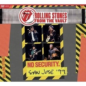 輸入盤 ROLLING STONES / FROM THE VAULT : NO SECURITY-SAN JOSE 1999 [DVD+2CD]|starclub