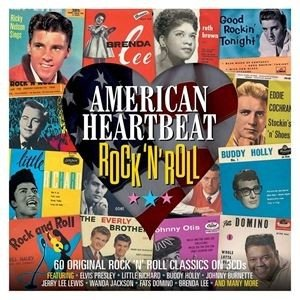 輸入盤 VARIOUS / AMERICAN HEARTBEAT : ROCK N' ROLL [3CD]|starclub