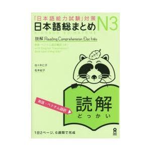 日本語総まとめ N3 読解 英語・ベトナ
