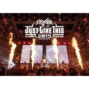 SPYAIR/JUST LIKE THIS 2015(通常盤) [DVD]|starclub