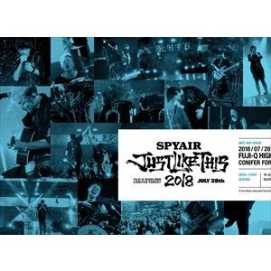 SPYAIR/JUST LIKE THIS 2018(完全生産限定盤) [Blu-ray]|starclub