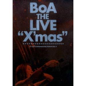 """BoA/BoA THE LIVE """"X'mas"""" [DVD] starclub"""