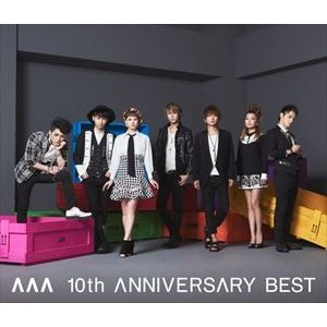 AAA/AAA 10th ANNIVERSARY BEST(通常盤)(CD)