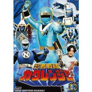 忍者戦隊カクレンジャー Vol.4 [DVD]|starclub