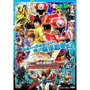 スーパー戦隊シリーズ 手裏剣戦隊ニンニンジャー VOL.10 [DVD] starclub