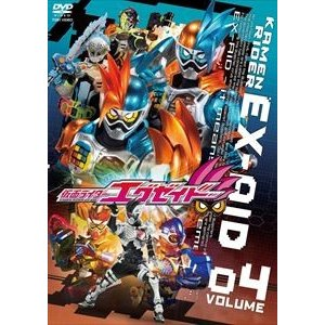仮面ライダーエグゼイド VOL.4 [DVD]|starclub