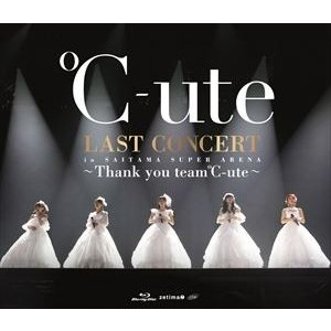 ℃-ute ラストコンサート in さいたまスーパーアリーナ 〜Thank you team℃-ute〜 [Blu-ray]|starclub