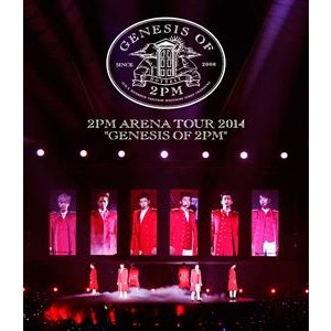 2PM/ARENA TOUR 2014 GENESIS OF 2PM(通常盤) [Blu-ray]|starclub