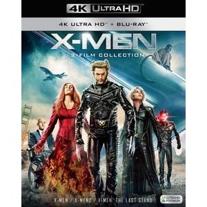 X-MEN 4K ULTRA HD トリロジーBOX [Ultra HD Blu-ray]|starclub