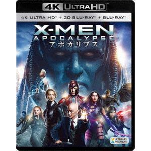 X-MEN:アポカリプス<4K ULTRA HD+3D+2Dブルーレイ> [Ultra HD Blu-ray]|starclub