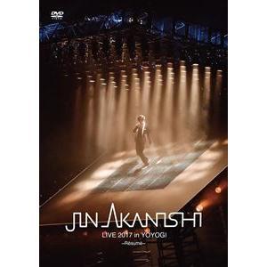 赤西仁/JIN AKANISHI LIVE 2017 in YOYOGI 〜Resume〜 [DVD]|starclub