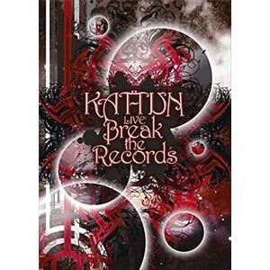 KAT-TUN LIVE Break the Records(通常盤) [DVD] starclub