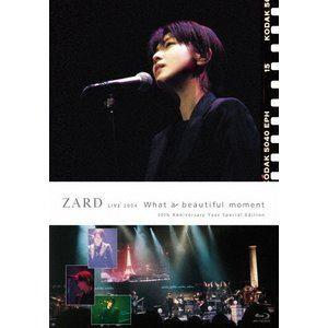 "ZARD LIVE 2004""What a beautiful moment""[30th Anniversary Year Special Edition] [Blu-ray]