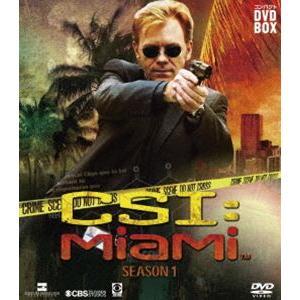 CSI:マイアミ コンパクト DVD-BOX シーズン1 [DVD]|starclub