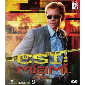 CSI:マイアミ コンパクト DVD-BOX シーズン3 [DVD]|starclub