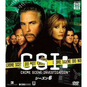 CSI:科学捜査班 コンパクト DVD-BOX シーズン6 [DVD] starclub