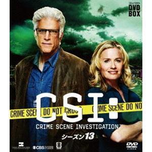 CSI:科学捜査班 コンパクト DVD-BOX シーズン13 [DVD] starclub
