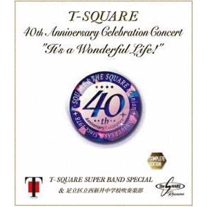 "T-SQUARE Super Band Special & 足立区立西新井中学校吹奏楽部/40th Anniversary Celebration Concert""It's a Wonderful Life!""Complete Edition [Blu-ray]|starclub"