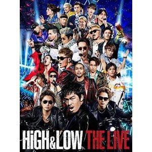 HiGH&LOW THE LIVE(初回生産限定盤) [DVD] starclub