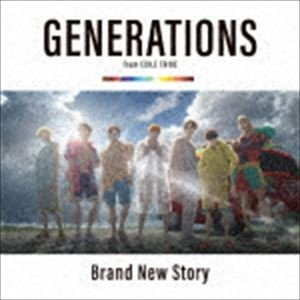 GENERATIONS from EXILE TRIBE / Brand New Story(CD+DVD) [CD]|starclub