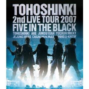 東方神起/Blu-ray Disc 東方神起 2nd LIVE TOUR 2007 〜Five in The Black〜 [Blu-ray]|starclub