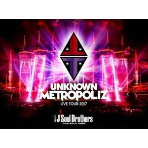 "三代目 J Soul Brothers LIVE TOUR 2017""UNKNOWN METROPOLIZ""(通常盤) [Blu-ray] starclub"