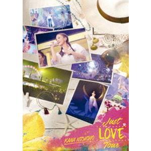 西野カナ/Just LOVE Tour(通常盤) [DVD]|starclub