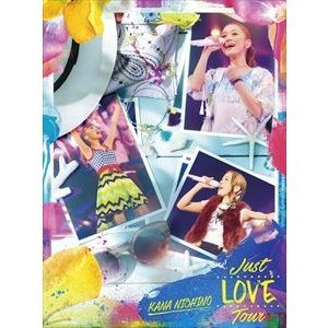 西野カナ/Just LOVE Tour(初回生産限定盤) [Blu-ray]|starclub