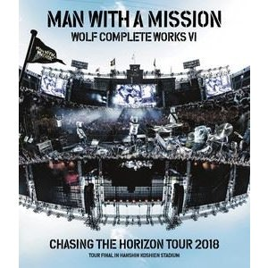 MAN WITH A MISSION/Wolf Complete Works VI 〜Chasing the Horizon Tour 2018 Tour Final in Hanshin Koshien Stadium〜 [Blu-ray] starclub