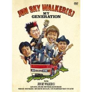 JUN SKY WALKER(S) MY GENERATION [DVD]|starclub