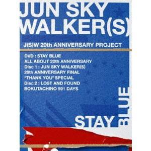 JUN SKY WALKER(S)/STAY BLUE〜ALL ABOUT 20th ANNIVERSARY〜 [DVD]|starclub