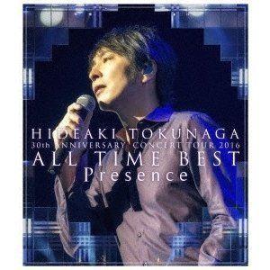 徳永英明/30th ANNIVERSARY CONCERT TOUR 2016 ALL TIME BEST Presence [Blu-ray]|starclub