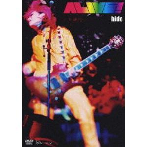 hide/ALIVE!(通常盤) [DVD]|starclub