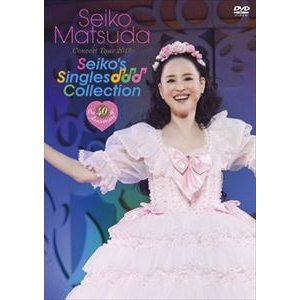 "松田聖子/Pre 40th Anniversary Seiko Matsuda Concert Tour 2019""Seiko's Singles Collection"" [DVD]|starclub"