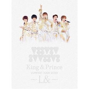 King & Prince CONCERT TOUR 2020 〜L&〜(初回限定盤) [Blu-ray]|starclub