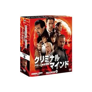 クリミナル・マインド/FBI vs. 異常犯罪 シーズン6 コンパクトBOX [DVD]|starclub
